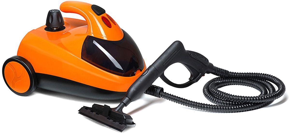 Kitfort КТ-908-3, Orange пароочистительКТ-908-3Технические характеристики: Напряжение: 220 В, 50 Гц. Мощность: 1500 Вт. Емкость бойлера: 1,5 л. Рабочее давление пара: 4 бара. Температура пара на выходе: 98 °С. Длина парового шланга: 1,5 м. Длина шнура: 2,5 м. Время разогрева: 12-15 минут.