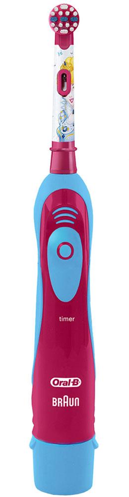 Braun Oral-B Stages Power DB4.510K Принцессы детская электрическая зубная щетка84850536_принцесы/голубой, розовыйДетская электрическая зубная щетка Braun DB4.510 обладает очень мягкими, расщепленными на концах щетинками, которые гарантируют очень бережную чистку зубов ребенка, а также массаж его нежных десен. Специальный дизайн: Детская электрическая зубная щетка Braun DB4010 (DB4.510) выполнена в специальном красочном дизайне, который невероятно привлекателен для каждого современного ребенка.