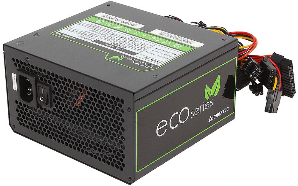 Chieftec GPE-500S блок питания для компьютера4710713234185Блок питания Chieftec GPE-500S относится к серии ECO, что открывает новую эпоху развития источников питания для ПК и отвечает самым современным европейским директивам энергоэффективности и охраны окружающей среды. В отличие от большинства конкурентов, данный блок ориентирован на фиксированное напряжение 230В в электрических сетях, имеет сертификат TUV и отвечает всем действующим стандартам качества ЕС (в том числе ENERGY STAR 5.0), что позволяют ему стать надёжным и эффективным компаньоном для современных ИТ-структур.