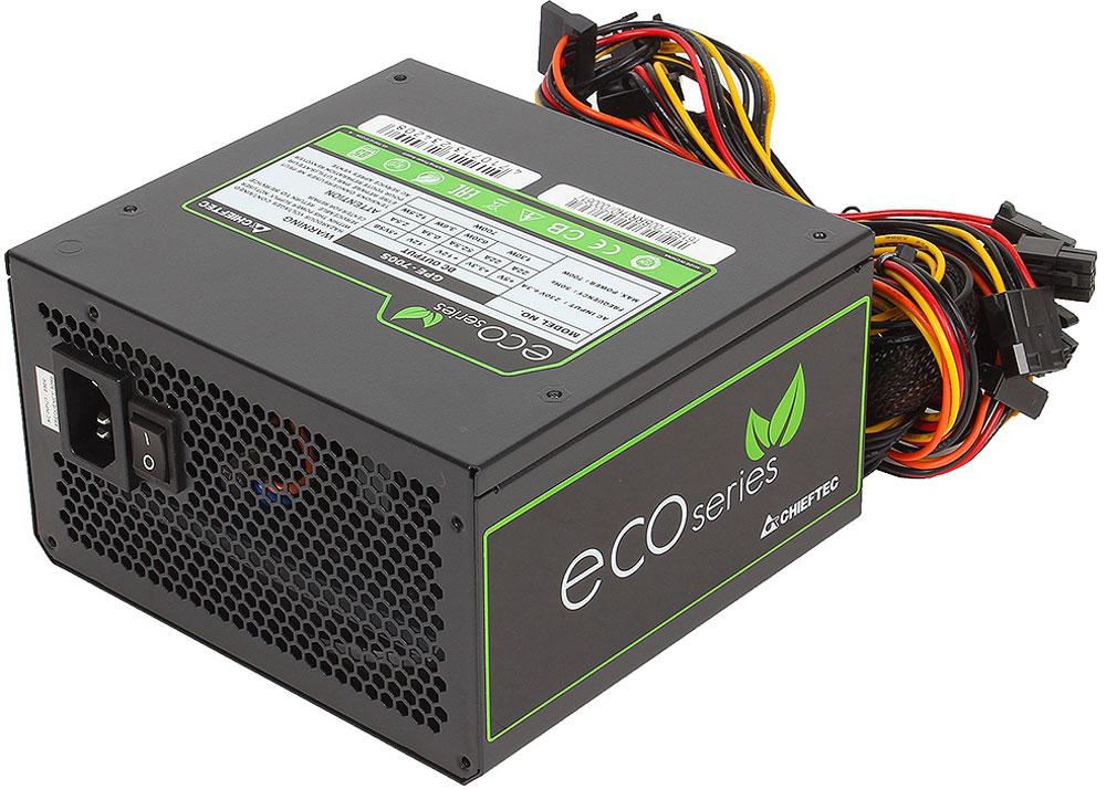 Chieftec GPE-700S блок питания для компьютера4710713234208Блок питания Chieftec GPE-700S относится к серии ECO, что открывает новую эпоху развития источников питания для ПК и отвечает самым современным европейским директивам энергоэффективности и охраны окружающей среды. В отличие от большинства конкурентов, данный блок ориентирован на фиксированное напряжение 230В в электрических сетях, имеет сертификат TUV и отвечает всем действующим стандартам качества ЕС (в том числе ENERGY STAR 5.0), что позволяют ему стать надёжным и эффективным компаньоном для современных ИТ-структур.