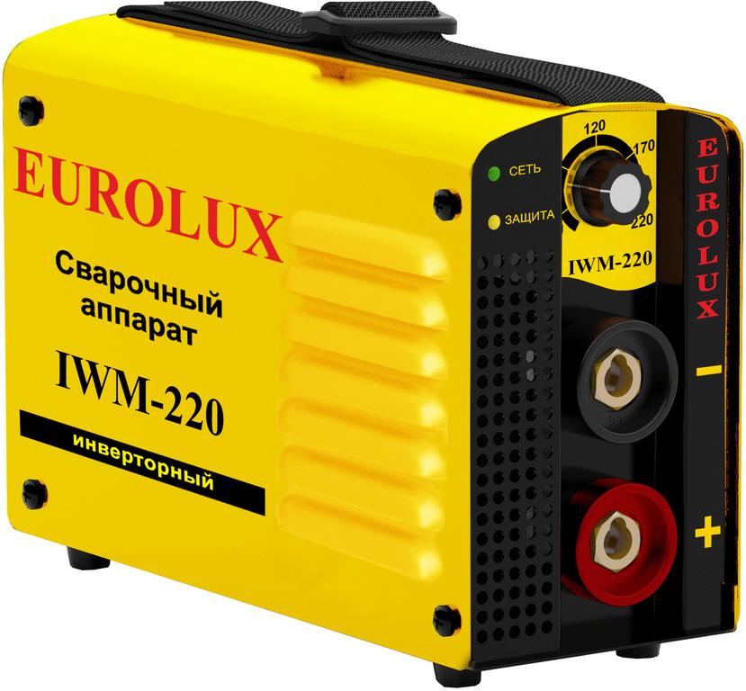 Eurolux IWM 220 инверторный сварочный аппарат 65/28.