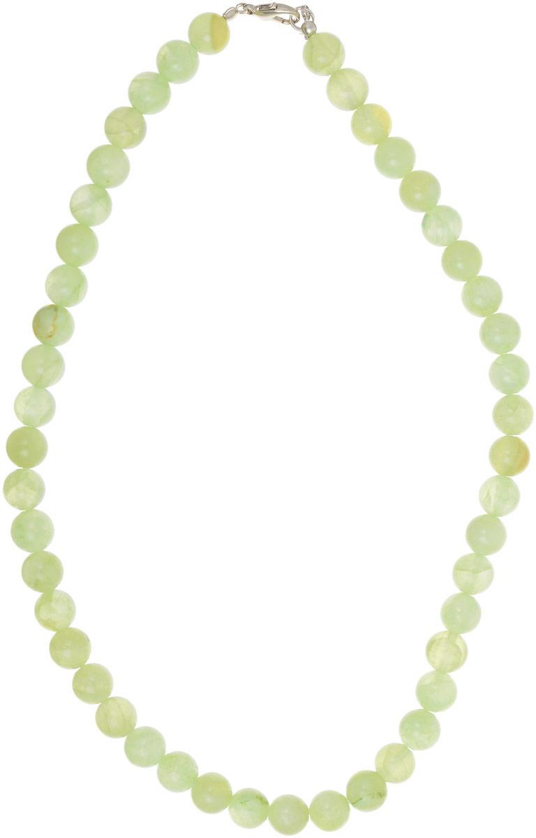 """Бусы Револю """"Классика № 10"""", цвет: зеленый. НОН-1(10)-45-1"""