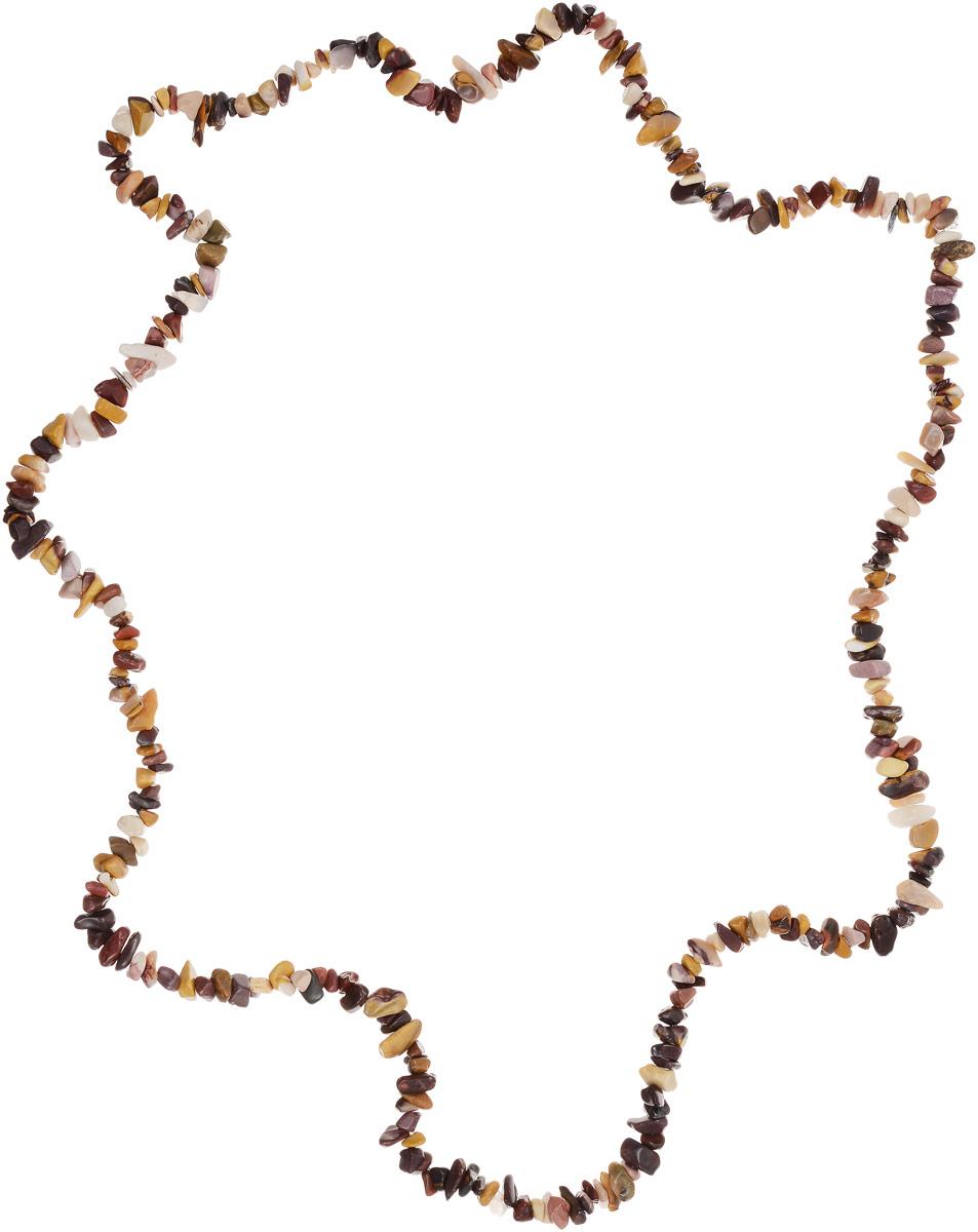 Бусы Револю Забава, цвет: мультиколор. НЯШ-75-90-10НЯШ-75-90-10Цветные яшмы очень многообразны! Кажется, среди несметной россыпи яшмовых камешков не найти и двух похожих! Если вы любите неожиданности и подарки, если вам по душе сочные цвета и бесконечная череда радостных дней, носите это прелестное украшение из весёлой яшмы, такой нарядной и всегда разной!