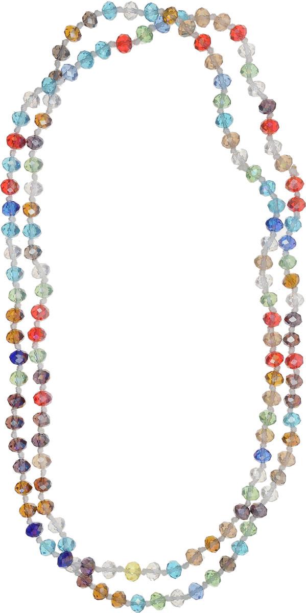 Бусы Револю Драгоценное сияние, цвет: красный. НХР-51(8)-110-30НХР-51(8)-110-30Сверкающие хрустальные камни порой выглядят так же благородно, как лучшие драгоценные камни высших сортов. Зачем же тогда платить целое состояние, если можно недорого купить вот такую сияющую роскошь?! Праздничные украшения из хрусталя окружат вас ореолом счастья и очарования!