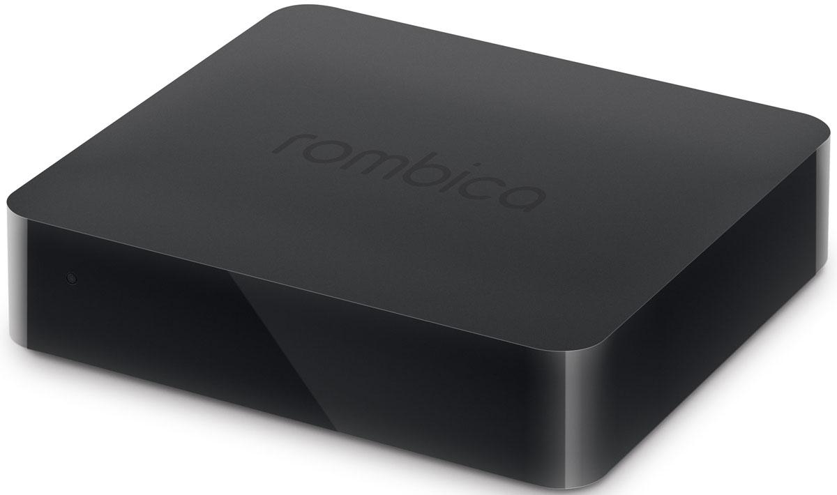 Rombica Smart Box 4K V001 медиаплеерB4K-H0010Rombica Smart Box 4K V001 - медиацентр со встроенным Wi-Fi модулем, работающий под управлением операционной системы Android 4.4. В основе устройства - четытехъядерный процессор ARM Cortex A7 с частотой 1.5 ГГц с графическим ядром ARM Mali-450. Плеер оснащен разъемом USB с поддержкой USB Flash носителей и жестких дисков до 2 ТБ включительно. Он полностью поддерживает воспроизведение подавляющего большинства мультимедийных файлов. Удобный настраиваемый мультимедиа интерфейс Rombica Launcher позволяет легко добавить или убрать иконки сервисов и приложений. Оптимален для управления классическим пультом ДУ. Знакомый рабочий стол Android: минимальное время на освоение, максимум результата и радости от любимых приложений. Полноценный доступ в Google Play Market - играйте в любимые Android-игры на экране вашего ТВ. Также к вашим услугам множество популярных и полезных приложений, отличные фильмы, музыка, книги и свежая пресса. ...