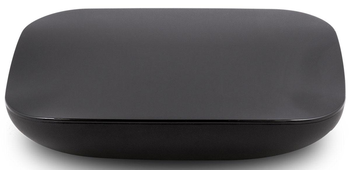 Rombica Smart Box Quad T2 v001 медиаплеерSBQ-T2805Rombica Smart Box Quad T2 v001 - медиаплеер со встроенным Wi-Fi модулем, работающий под управлением операционной системы Android 4.4. В основе устройства - четырехъядерный процессор ARM Cortex с частотой 1.5 ГГц с графическим ядром ARM Mali-450. Имеет встроенный DVB-T2 тюнер для просмотра и записи ТВ передач. Плеер оснащен разъемом USB с поддержкой USB Flash носителей и жестких дисков до 2 ТБ включительно. Он полностью поддерживает воспроизведение подавляющего большинства мультимедийных файлов. Удобный настраиваемый мультимедиа интерфейс Rombica Launcher позволяет легко добавить или убрать иконки сервисов и приложений. Оптимален для управления классическим пультом ДУ. Знакомый рабочий стол Android: минимальное время на освоение, максимум результата и радости от любимых приложений. Полноценный доступ в Google Play Market - играйте в любимые Android-игры на экране вашего ТВ. Также к вашим услугам множество популярных и полезных...