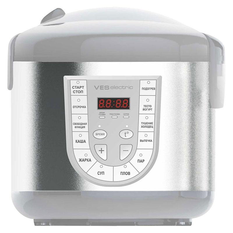 Ves SK-A14F-G мультиваркаSK-A14F-GМультиварка Ves SK-A14F-G имеет 11 программ приготовления различных блюд. Оснащена 4-х модульным LED дисплеем. Комплектуется чашей со специальным угольным покрытием. Подходит для приготовления диетического и детского питания. Ves SK-A14F-G имеет возможность ручной настройки времени (до 12 часов) и температуры приготовления (от 35 до 160°C). Ручные настройки в сочетании с вашим опытом помогут добиться наиточнейшего выполнения рецептов и создания новых.