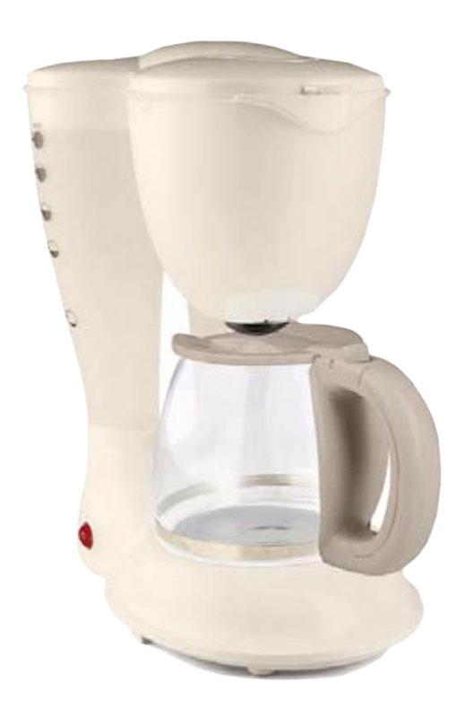 Ves V-FS3 кофеваркаV-FS3Ves V-FS3 - капельная кофеварка, которая порадует вас ароматным и невероятно вкусным кофе, с которым очень приятно начинать утро. Модель оснащена съемным моющимся фильтром, индикатором уровня воды, системой капля -стоп а также световым индикатором работы. Функция подогрева кувшина позволит сохранить приемлемую температуру приготовленного напитка.
