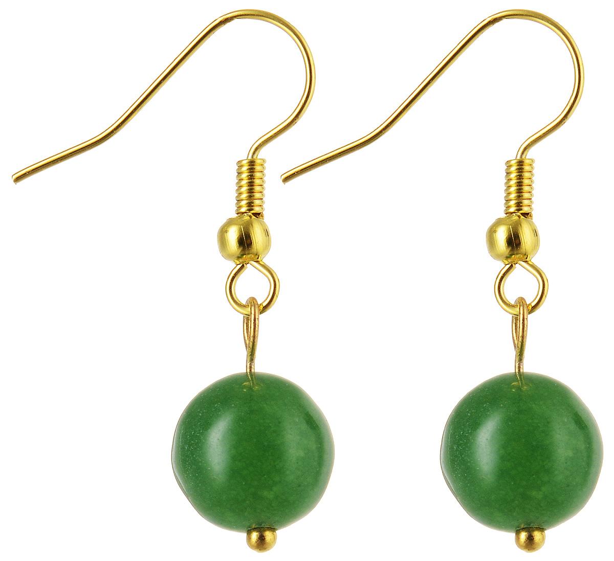 Серьги Револю Классика, цвет: зеленый. с4547с4547