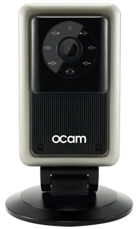 OCam-M2, Black Gold IP-камераOCAM-M2+GoldС камерой OCam-M2 у вас появится возможность присмотреть за своим домом, маленьким ребенком, пожилыми людьми и даже домашним питомцем. Строгий дизайн и удобная для дома или офиса камера наблюдения. Инженеры предусмотрели различные сценарии использования камеры, поэтому пользователю доступны несколько режимов работы. Переключаться между ними можно в один клик. Записанные видеофайлы и фотографии сохраняются на карту памяти microSD. Когда возникает движение или звук, камера активирует системы распознавания, после чего вы сразу получите уведомление в виде звонка или письма на электронную почту. Благодаря инфракрасной подсветке вы получите четкое изображение даже в условиях плохого освещения. Широкий угол обзора в 120° дает больший охват получаемого изображения, поэтому вы сможете наблюдать, к примеру, не только за ребенком, но и за окружающей его обстановкой во всей комнате. Наличие встроенного микрофона и динамика позволяет вам общаться с...