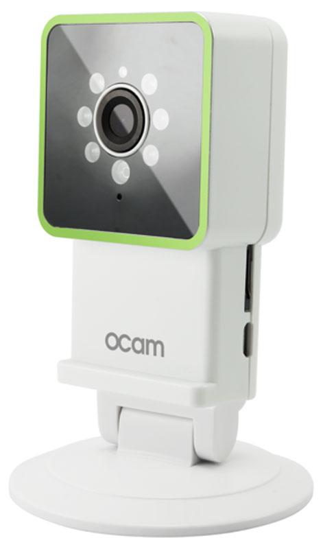 OCam-M3, Green IP-камераOCAM-M3+GreenС камерой OCam-M3 у вас появится возможность присмотреть за своим домом, маленьким ребенком, пожилыми людьми и даже домашним питомцем. Строгий дизайн и удобная для дома или офиса камера наблюдения. Инженеры предусмотрели различные сценарии использования камеры, поэтому пользователю доступны несколько режимов работы. Переключаться между ними можно в один клик. Записанные видеофайлы и фотографии сохраняются на карту памяти microSD. Когда возникает движение или звук, камера активирует системы распознавания, после чего вы сразу получите уведомление в виде звонка или письма на электронную почту. Благодаря инфракрасной подсветке вы получите четкое изображение даже в условиях плохого освещения. Широкий угол обзора в 120° дает больший охват получаемого изображения, поэтому вы сможете наблюдать, к примеру, не только за ребенком, но и за окружающей его обстановкой во всей комнате. Наличие встроенного микрофона и динамика позволяет вам общаться с...