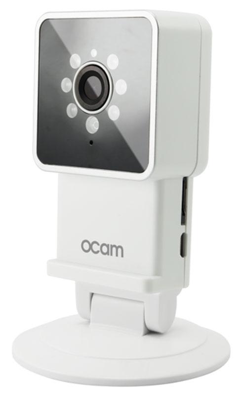 OCam-M3, White IP-камераOCAM-M3+WhiteС камерой OCam-M3 у вас появится возможность присмотреть за своим домом, маленьким ребенком, пожилыми людьми и даже домашним питомцем. Строгий дизайн и удобная для дома или офиса камера наблюдения. Инженеры предусмотрели различные сценарии использования камеры, поэтому пользователю доступны несколько режимов работы. Переключаться между ними можно в один клик. Записанные видеофайлы и фотографии сохраняются на карту памяти microSD. Когда возникает движение или звук, камера активирует системы распознавания, после чего вы сразу получите уведомление в виде звонка или письма на электронную почту. Благодаря инфракрасной подсветке вы получите четкое изображение даже в условиях плохого освещения. Широкий угол обзора в 120° дает больший охват получаемого изображения, поэтому вы сможете наблюдать, к примеру, не только за ребенком, но и за окружающей его обстановкой во всей комнате. Наличие встроенного микрофона и динамика позволяет вам общаться с...