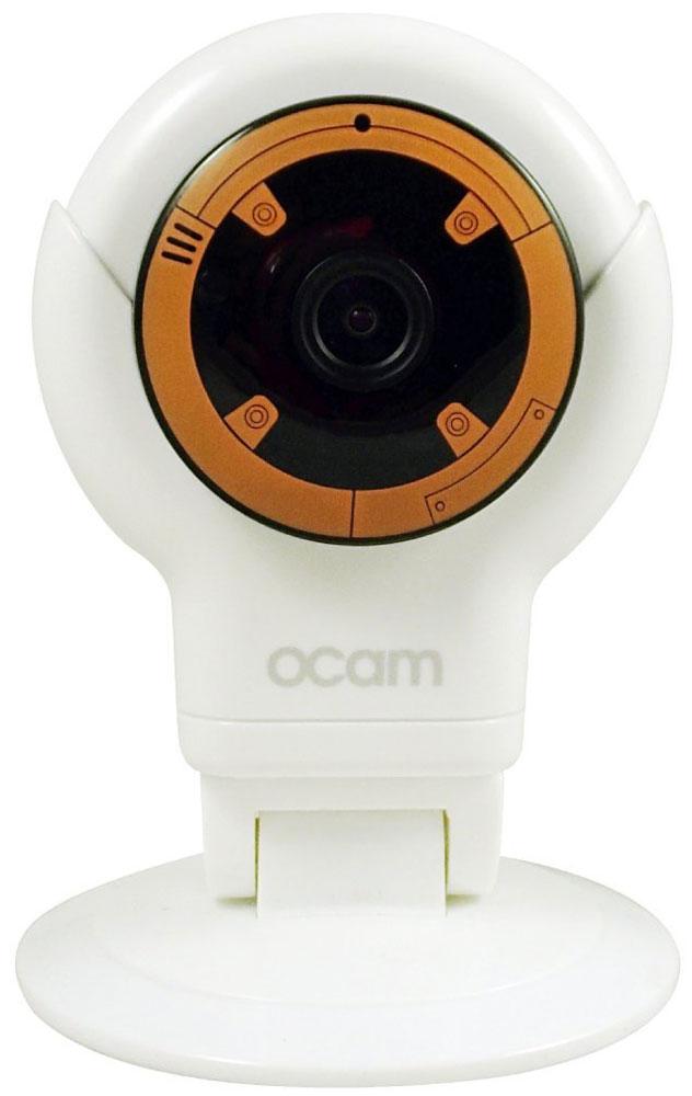 OCam-S1, Orange IP-камераOCAM-S1-OrangeС камерой OCam-S1 у вас появится возможность присмотреть за своим домом, маленьким ребенком, пожилыми людьми и даже домашним питомцем. Приятный дизайн и удобная для дома или офиса камера наблюдения. Инженеры предусмотрели различные сценарии использования камеры, поэтому пользователю доступны несколько режимов работы. Переключаться между ними можно в один клик. Записанные видеофайлы и фотографии сохраняются на карту памяти microSD. Когда возникает движение или звук, камера активирует системы распознавания, после чего вы сразу получите уведомление в виде звонка или письма на электронную почту. Благодаря инфракрасной подсветке вы получите четкое изображение даже в условиях плохого освещения. Широкий угол обзора в 120° дает больший охват получаемого изображения, поэтому вы сможете наблюдать, к примеру, не только за ребенком, но и за окружающей его обстановкой во всей комнате. Наличие встроенного микрофона и динамика позволяет вам общаться с...