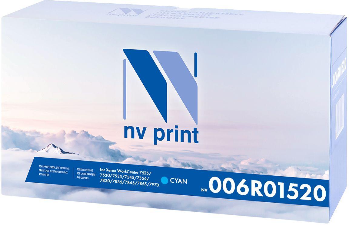 NV Print 006R01520C, Cyan картридж для Xerox WorkCentre 7525/7530/7535/7545/7556/7830/7835/7845/7855/7970NV-006R01520CКартридж NVP лазерный совместимый Xerox, производитель NV Print, модель NV-006R01520 Cyan для Xerox WorkCentre 7525/7530/7535/7545/7556/7830/7835/7845/7855/7970, ресурс 15000 копий (15000k).