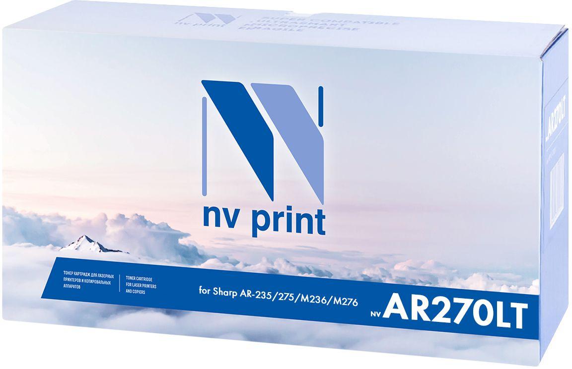 NV Print AR270LT, Black картридж для Sharp AR-235/275/M236/M276NV-AR270LTСовместимый лазерный картридж NV Print AR270LT для печатающих устройств Sharp AR-235/275/M236/M276 - это альтернатива приобретению оригинальных расходных материалов. При этом качество печати остается высоким. Тонер-картридж NV Print AR270LT спроектирован и разработан с применением передовых технологий, наилучшим образом приспособлен для эффективной работы печатного устройства. Все компоненты оптимизируют процесс печати и идеально сочетаются в течение всего времени работы, что дает вам неизменно качественные результаты при использовании вашего лазерного принтера.