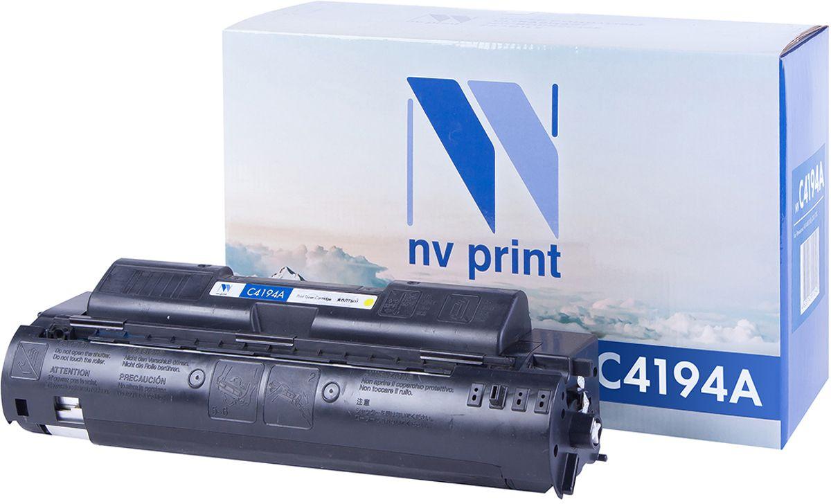 NV Print C4194AY, Yellow тонер-картридж для НР LaserJet 4500/4550NV-C4194AYКартридж лазерный совместимый HP, производитель NV Print, модель NV-C4194A Yellow для НР LaserJet 4500/4550, ресурс 6000 копий.