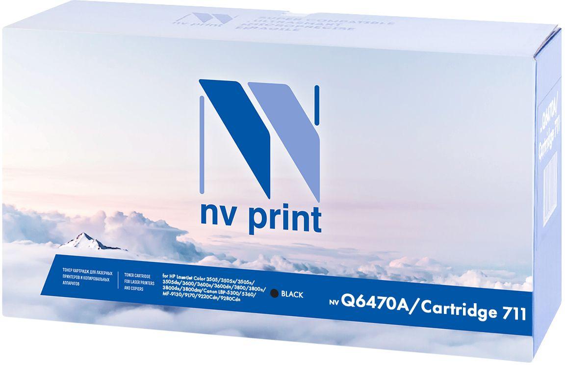 NV Print Q6470A/Canon 711 Black тонер-картридж для HP LaserJet Color 3505/3505x/3505n/3505dn/3600/3600n/3600dn/3800/3800n/3800dn/3800dnt/Canon LBP-5300/5360/MF-9130/9170/9220Cdn/9280CdnNV-Q6470A/711BkКартридж NVP лазерный совместимый HP, производитель NV Print, модель NV-Q6470A/Canon 711 Black для HP LaserJet Color 3505/3505x/3505n/3505dn/3600/3600n/3600dn/3800/3800n/3800dn/3800dnt/Canon LBP-5300/5360/MF-9130/9170/9220Cdn/9280Cdn, ресурс 6000 копий.