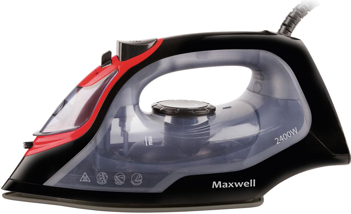 Maxwell MW-3034 (BK) утюгMW-3034(BK)Утюг Maxwell MW-3034 (ВK) оснащен функцией вертикального отпаривания и самоочистки. Подошва утюга выполнена из надежной стали, покрытой антипригарным покрытием, которое обеспечивает бережное отношение к разным тканям и прекрасное скольжение по любой одежде в процессе глажения. Утюг Maxwell MW-3034 (ВK) быстро нагревается. По необходимости вы можете изменить температуру нагрева подошвы, что позволяет бережно выгладить одежду даже из деликатных тканей. Более того, есть возможность использования функции разбрызгивания, что значительно облегчает отглаживание глубоких складок. Данной техникой пользоваться легко и приятно. Глажение вещей не занимает много времени, при этом всегда можно изменить режим работы устройства движением одного пальца.