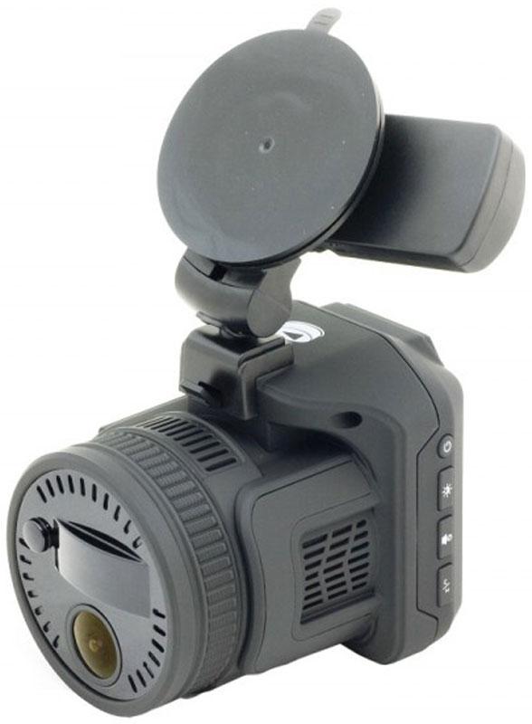 PlayMe P450 Tetra видеорегистратор с радар-детекторомPlayMe-P450PlayMe P450 Tetra - миниатюрное комбинированное устройство, включающее в себя функции качественного Full HD видеорегистратора и радар-детектора с мощной радарной-антенной. Оба устройства в составе сложного гаджета дополнены GPS модулем для обнаружения стационарных камер контроля скорости и трекинга пути. Модель обладает большой чувствительность в радиодиапазонах и способна детектировать радары полиции еще на большее, запредельное расстояние, недостижимое для аналогов от других производителей. Новый городской режим работы позволяет двигаться в современном мегаполисе, игнорируя срабатывания в радиодиапазонах на двери торговых центров и заправочных станций. Все показатели и предупреждения антирадара выводятся на дисплей диагональю 2,4 дюйма. Предупреждения текстовые и дублируются голосовыми подсказками на русском языке. GPS приемник, размещенный в креплении со сквозным питанием и выполняет сразу две функции. Первая - это GPS информирование о...
