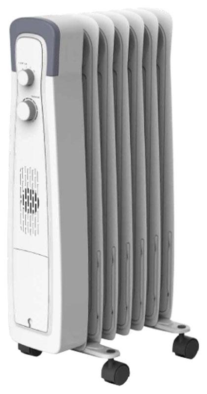 Hyundai H-HO1-07-UI551 радиатор масляныйH-HO1-07-UI551Электрический маслонаполненный радиатор Hyundai H-HO1-07-UI551 предназначен для основного или дополнительного обогрева помещений. Оснащен механическим термостатом для поддержания заданной температуры. Обогреватель состоит из 7 маслонаполненных секций. Предусмотрено ступенчатое переключение мощности нагрева. Для удобства хранения и транспортировки обогреватель имеет отсек для хранения шнура питания.
