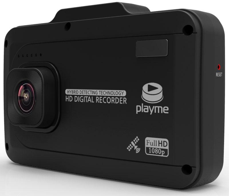 PlayMe P500 Tetra видеорегистратор с радар-детектором