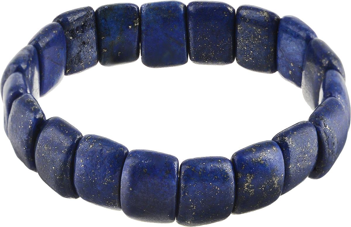 Браслет Револю Клеопатра, цвет: синий. бНЛА-2(15-10)-18-2бНЛА-2(15-10)-18-2Размер камня:15 х 10 мм Драгоценный лазурит - это не просто камень, это дар добрых богов, если верить старинным легендам! Каждый изумительный камешек лазурита действительно похож на осколок бездонного неба. Примерьте это обворожительное украшение из осколков неба - ощутите себя истинной небесной богиней!