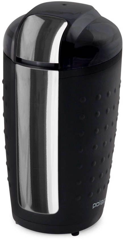 Polaris PCG 1420 кофемолка007940Кофемолка для измельчения кофейных зерен Мощность 200 Вт Вместимость 70 гр Защита от включения без крышки Ножи из нержавеющей стали Импульсный режим работы Напряжение 220-240 В Частота 50 Гц