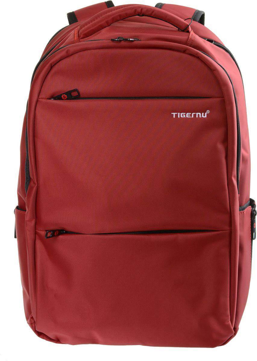 Tigernu T-B3032A, Wine рюкзак для ноутбука 17T-B3032AРюкзак Tigernu T-B3032A отлично подойдет для работы, учебы или путешевствий. Сделан из высокопрочного,водоотталкивающего материала. Довольно легкий. Отделение для ноутбука и планшета со вставкой из защитной пены, которое защитит ваши устройства от царапин и других повреждений. На задней части вашего рюкзака находится скрытый карман, где вы можете хранить свои документы и ценные вещи. Основное отделение с двойной молнией (защита от кражи). Мягкая сетчатая спинка для максимальной поддержки и комфорта.