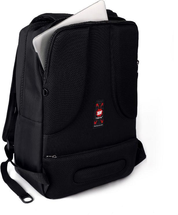 Tigernu T-B3176, Black рюкзак для ноутбука 17T-B3176Рюкзак Tigernu T-B3176 отлично подойдет для работы, учебы или путешевствий. Сделан из высокопрочного,водоотталкивающего материала. Довольно легкий. Отделение для ноутбука и планшета со вставкой из защитной пены, которое защитит ваши устройства от царапин и других повреждений. S-образная конструкция спинки с воздухопроницаемой губкой обеспечивает идеальную мягкую посадку. Основное отделение с двойной молнией (защита от кражи).