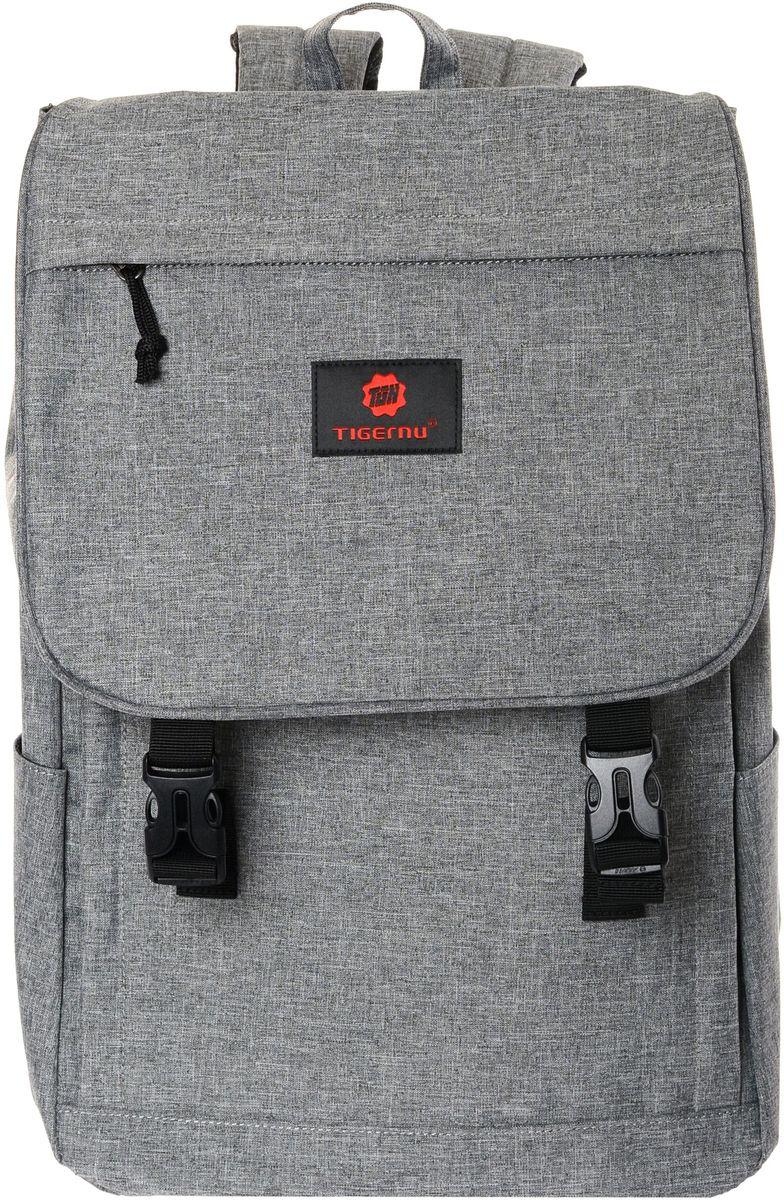 Tigernu T-B3185, Grey рюкзак для ноутбука 14T-B3185Рюкзак Tigernu T-B3185 отлично подойдет для работы, учебы или путешевствий. Сделан из высокопрочного,водоотталкивающего материала. Довольно легкий. Основное отделение с двойной молнией (защита от кражи). На задней части рюкзака находится скрытый карман, где можно хранить свои документы и ценные вещи.