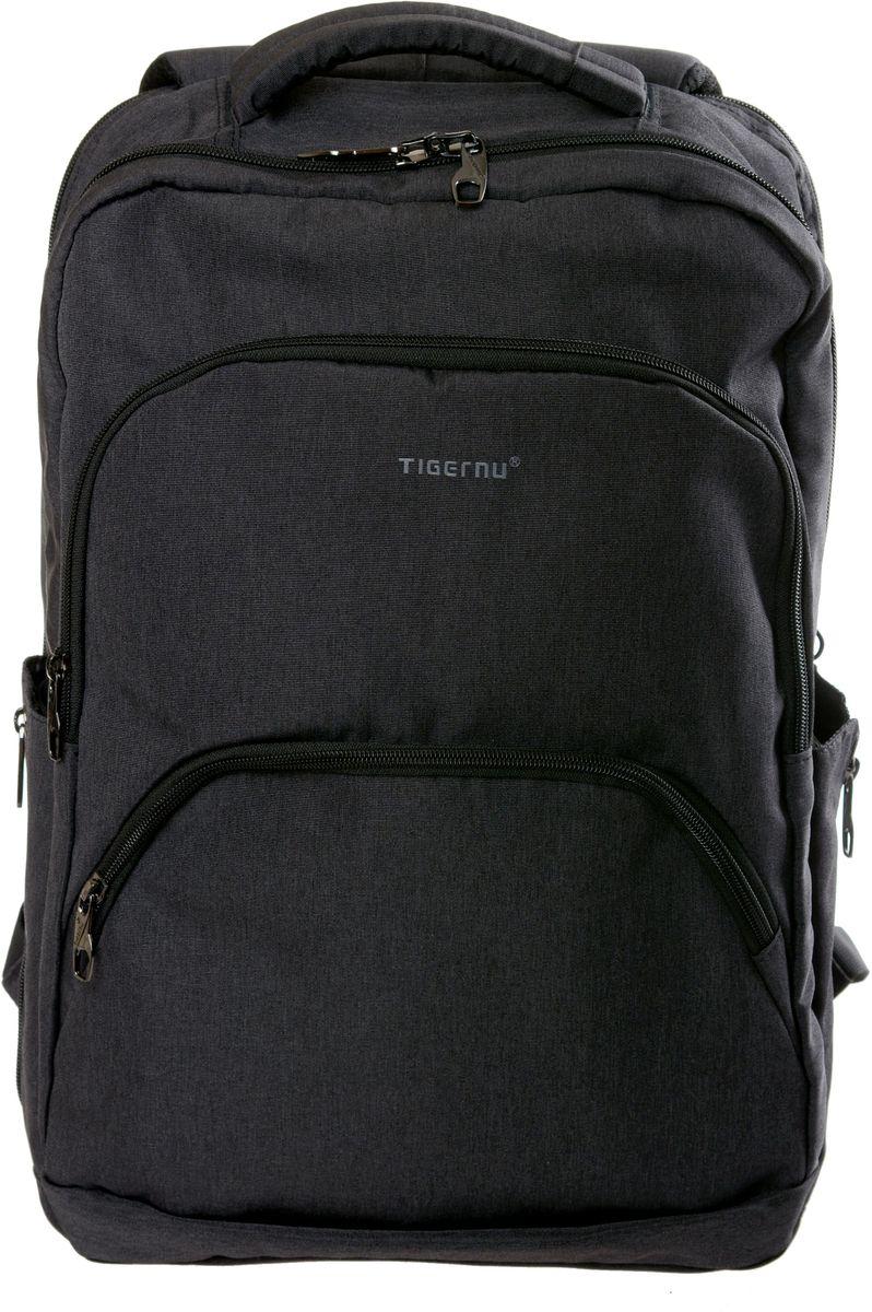 Tigernu T-B3189, Dark Grey рюкзак для ноутбука 17T-B3189Рюкзак Tigernu T-B3189 отлично подойдет для работы, учебы или путешевствий. Сделан из высокопрочного,водоотталкивающего материала. Довольно легкий. Отделение для ноутбука и планшета со вставкой из защитной пены, которое защитит ваши устройства от царапин и других повреждений. S-образная конструкция спинки с воздухопроницаемой губкой обеспечивает идеальную мягкую посадку. Основное отделение с двойной молнией (защита от кражи).
