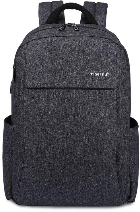 Tigernu T-B3221, Dark Grey рюкзак для ноутбука 15T-B3221Рюкзак Tigernu T-B3221 отлично подойдет для работы, учебы или путешевствий. Сделан из высокопрочного,водоотталкивающего материала. Довольно легкий. Отделение для ноутбука и планшета со вставкой из защитной пены, которое защитит ваши устройства от царапин и других повреждений. S-образная конструкция спинки с воздухопроницаемой губкой обеспечивает идеальную мягкую посадку. Основное отделение с двойной молнией (защита от кражи). Эластичная протяжка для ручек чемоданов. USB вход для зарядки гаджетов (смартфон, планшет). Передняя стягивающая застежка.