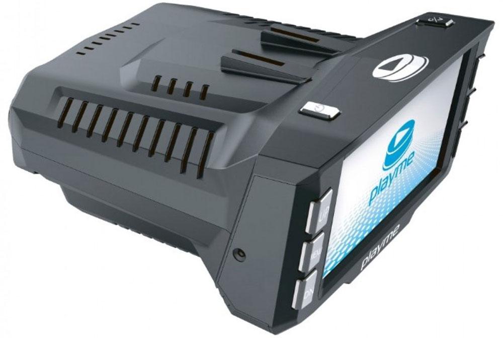 PlayMe P200 Tetra видеорегистратор с радар-детекторомPlayMe-P200Автомобильный видеорегистратор PlayMe P200 Tetra устанавливается на лобовое стекло на поворотном креплении присоске. В передней части устройства расположен миниатюрный глазок видеокамеры настоящего HD качества съемки. На задней части, со стороны водителя, расположен большой ЖК дисплей диагональю 2,7 дюйма. Дисплей используется для просмотра видео и выставления настроек. Производитель смог совместить вывод информации видеорегистратора и радар-детектора на один экран, что значительно уменьшило размеры корпуса. Съемка видео производится циклично на карту памяти micro SD до 32 Гб объемом. PlayMe P200 сам включится и начнет съемку при включении зажигания автомобиля и сам завершит работу в конце поездки. В качестве антирадар, PlayMe P200 Tetra способен улавливать радио излучение всех существующих радаров и камер ГИБДД на предельно возможном расстоянии. Для отсечения ложных срабатываний предусмотрена гибкая система настроек и возможность переключения ...