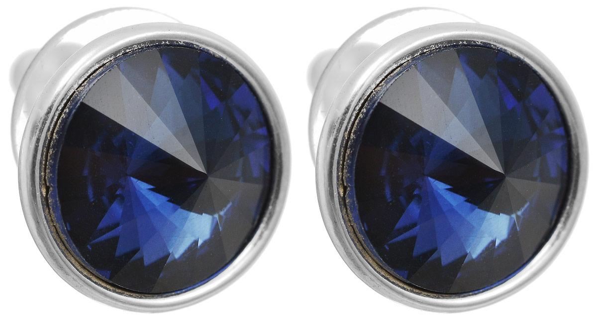 Серьги-пусеты Сильва. Бижутерное стекло, гипоаллергенный бижутерный сплав серебряного тона. Krikos, Китай29237-3-405Серьги-пусеты Сильва. Бижутерное стекло, гипоаллергенный бижутерный сплав серебряного тона. Krikos, Китай. Размер - диаметр 1,5 см.