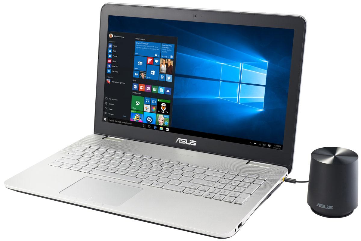 ASUS N551VW, Grey (N551VW-FW325T)90NB0AH1-M03920Модель ноутбука ASUS N551VW обладает мощной конфигурацией и широкой функциональностью. Его отличительной особенностью является наличие высококачественной встроенной аудиосистемы с технологией SonicMaster Premium. Ноутбук ASUS N551VW выполнен в тонком корпусе с металлической отделкой, который обладает оригинальным дизайном. ASUS N551VW обладает мощной конфигурацией и широкой функциональностью. Несмотря на это, он выполнен в тонком корпусе, который может похвастать стильным дизайном с привлекающими взгляд элементами, такими как волнистая решетка динамиков. Ноутбук ASUS N551VW может похвастаться красочным изображением с широкими углами обзора. Матовое покрытие экрана способствует минимизации бликов. Разрешение составляет 1920х1080 пикселей (формат Full HD). Эксклюзивная технология ASUS Splendid позволяет быстро настраивать параметры дисплея в соответствии с текущими задачами и условиями, чтобы получить максимально...