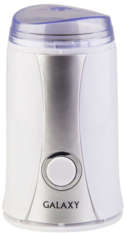 Galaxy GL 0905, White кофемолка4650067302621Мощность, Вт: 250 Вместимость контейнера, г: 65 Защита от непроизвольного пуска Нож из нержавеющей стали Контейнер из нержавеющей стали Импульсный режим работы Пластиковый корпус Напряжение сети, В: 220-240 Частота, Гц: 50