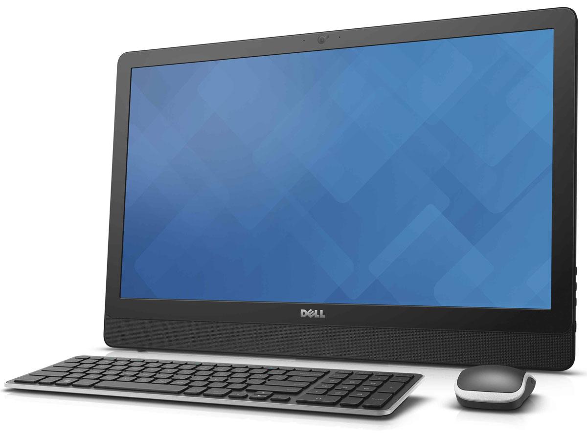 Dell Inspiron 3459-1714, Black моноблок3459-1714Dell Inspiron 3459 отличается дисплеем с разрешением Full HD и широкими углами обзора, простой конструкцией, предусматривающей использование всего одного кабеля, и мощным процессором Intel Core i3-6100U. Это оптимальное решение для всей семьи. Откидная подставка и конструкция, предусматривающая использование всего одного кабеля, позволяют быстро и легко разместить компьютер в любом помещении. Корпус компьютера Dell Inspiron 3459 с невероятно тонкой панелью и выполненные в едином стиле с корпусом клавиатура и мышь прекрасно дополнят любой интерьер. Оцените совершенно новый уровень фильмов и игр благодаря процессору Intel. Встроенный графический адаптер, высочайшая производительность и потрясающее качество изображения выводят мультимедийные возможности компьютера на новый уровень. Dell Inspiron 3459 с дисководом оптических дисков и жестким диском емкостью 1 Тбайт предоставит достаточно места для хранения фильмов, памятных фотографий,...