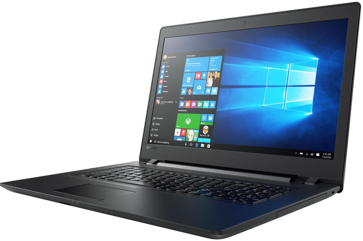 Lenovo IdeaPad 110-17ACL, Black (80UM005BRK)80UM005BRKLenovo IdeaPad 110 объединяет все необходимые характеристики в одном устройстве начального уровня: стабильная производительность, большой объем оперативной памяти и накопителя, высококлассный дисплей. Доступны комплектации с различными видеокартами. 17,3-дюймовый широкоформатный дисплей стандарта HD с соотношением сторон 16:9 и разрешением 1600 х 900 обеспечивает четкость и яркость изображения. Ноутбук Ideapad 110 оснащен встроенным модулем Wi-Fi 802.11 a/c, что обеспечит молниеносную скорость для веб- серфинга, воспроизведения потокового видео и загрузки файлов. Скорость передачи данных стандарта Wi-Fi 802.11 a/c почти в три раза выше, чем 802.11 b/g/n. На ноутбук Lenovo IdeaPad 110 установлена обновленная версия уже знакомой Windows. Меню Пуск вернулось и стало лучше, чем прежде. Его можно расширять и настраивать под свои задачи. К ноутбуку можно подключать различные устройства: принтеры, камеры, USB-накопители и другие устройства....