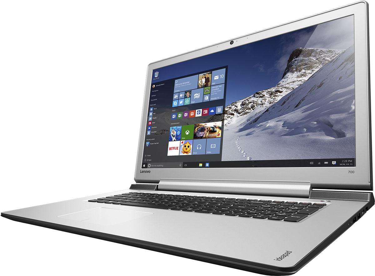 Lenovo IdeaPad 700-17ISK, Black (80RV006BRK)80RV006BRKСтильный легкий мультимедийный ноутбук оснащен высокопроизводительным процессором Intel Core, дисплеем, обеспечивающим превосходное качество изображений, и дискретной видеокартой. Отличительные характеристики 17-дюймового IdeaPad 700 - по-настоящему объемный звук, сверхвысокая скорость Wi-Fi, а также возможность подключения высокопроизводительных твердотельных накопителей. Наряду с уже знакомыми функциями, Windows 10 Домашняя оснащена множеством улучшений, которые ты точно оценишь. Она обеспечивает быструю и слаженную работу всех программ. К тому же устройства, работающие под управлением Windows 10, поддерживают функцию энергосбережения Battery Saver - теперь можно работать и играть еще дольше. Ультрасовременная ОС Windows 10 предлагает больше встроенных средств защиты от вредоносных программ, чем любая другая операционная система. Высокопроизводительный, многофункциональный процессор Intel Core i7-6700HQ со встроенной системой безопасности...