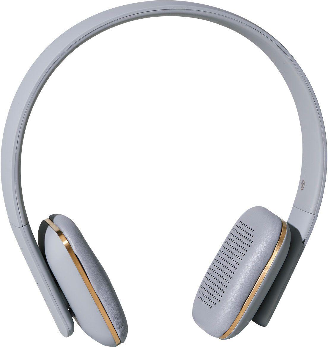 Kreafunk aHEAD, Grey наушникиKfss09aHEAD – беспроводные наушники, созданные для настоящих меломанов и модников. Это не только полезный гаджет, но и стильный аксессуар, который дополнит имидж и подчеркнет индивидуальность. Наушники оснащены Bluetooth-гарнитурой и совместимы с любым смартфоном. Панель управления находится на одном из наушников, что позволяет легко регулировать музыку, уровень громкости или даже принимать телефонные звонки. Подушки наушников выполнены из мягкой эко-кожи, а настраиваемый ободок имеет приятное покрытие soft touch. Великолепное качество звука, простота эксплуатации и лаконичный дизайн – этим гаджетом захочется пользоваться изо дня в день. В комплекте фирменный мешочек из PU кожи. Поставляются в стильной деревянной упаковке, поэтому могут стать отличным подарком меломанам и всем поклонникам скандинавского дизайна. Также коробку украшают слова Фридриха Ницше: «Без музыки жизнь была бы ошибкой». Технические характеристики: Аккумулятор (Li-ion) 195 мАч До 14 часов беспрерывной...