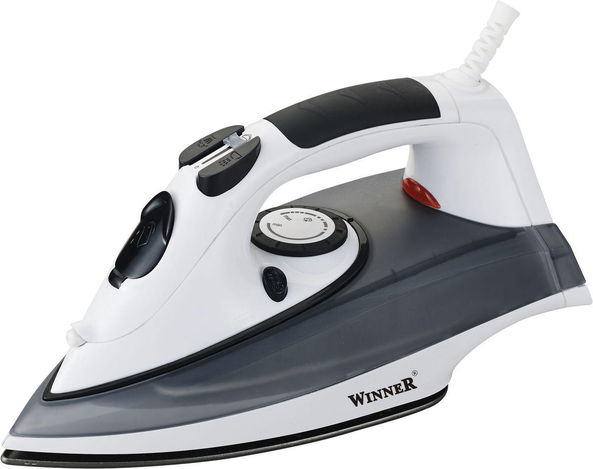 Winner Electronics WR-479 утюгWR-479Сухое глажение, распыление, отпаривание, паровой удар, самоочистка. Терморегулятор. Прозрачный резервуар для воды с крышкой. Световой индикатор нагрева. Керамическая подошва. Размеры подошвы 11,5*23,0см.220-240В, 50/60Гц, 2200Вт