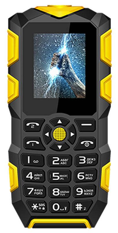 Vertex K203, Black YellowK203-BLORМобильный телефон Vertex K203 - модель с защитой IP68 от влаги и пыли, а также с функцией Powerbank. Корпус телефона надежно защищен от механических воздействий. Благодаря степени защиты от воды IP68 телефон выдерживает погружение под воду до 1 м. Благодаря специальному корпусу, стеклу и общей герметичности, в случае экстренной ситуации телефон сохранит свою работоспособность.Телефон не тонет! Телефон оснащен функцией Powerbank на 2700 мАч, что дает возможность заряжать другие устройства. Цветной дисплей 1,77 обеспечивает удобное использование телефона при выполнении повседневных задач. Модель К203 можно брать с собой на рыбалку, в лес, в горы и не бояться его повредить. Защищенный телефон подойдет людям, которые любят активный отдых или занятия экстремальным спортом. Телефон оснащен мощный светодиодным фонариком для ориентации в темноте. Также поддерживает функцию SOS для экстренных ситуаций. Для того, чтобы вы...