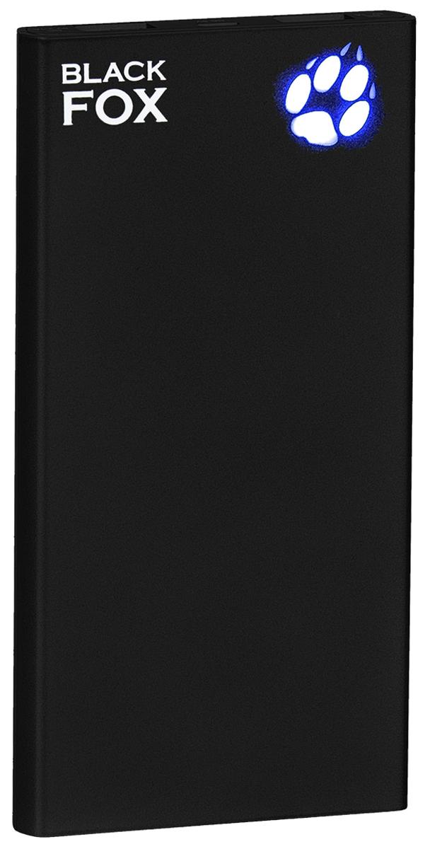 Black Fox BMP100D внешний аккумулятор (10 000 мАч)4627102591029Внешний аккумулятор Black Fox BMP 100D (Цвет - чёрный), Li-Ion, емкость 10000 мАч, световая индикация заряда в виде лапы