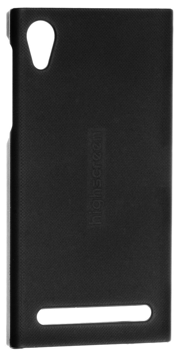 Highscreen чехол для Pure F, Black22851Оригинальный чехол для смартфона Highscreen Pure F. Чехол обеспечит надежную защиту вашего аппарата от царапин и повреждений.