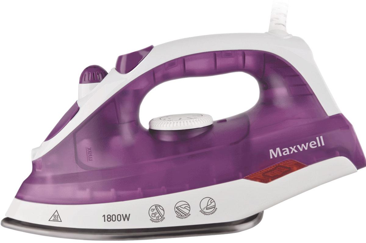 Maxwell MW-3042(VT) утюгMW-3042(VT)В утюге Maxwell MW-3042(VT) все предусмотрено для легкого, быстрого и эффективного глажения. Данная модель оснащена подошвой из нержавеющей стали, что обеспечит легкое скольжение по тканям любой фактуры. Модель позволяет воспользоваться как сухим глажением, так и паровым. Благодаря наличию сильного парового удара вы можете использовать вертикальное отпаривание для глажения вещей, не снимая их с вешалки. Различные температурные режимы позволят подобрать нужную температуру для определенного вида ткани из шерсти, шелка, хлопка или синтетики. Функция разбрызгивания поможет еще эффективнее прогладить вещи, а вращающийся шнур обеспечит удобство работы.