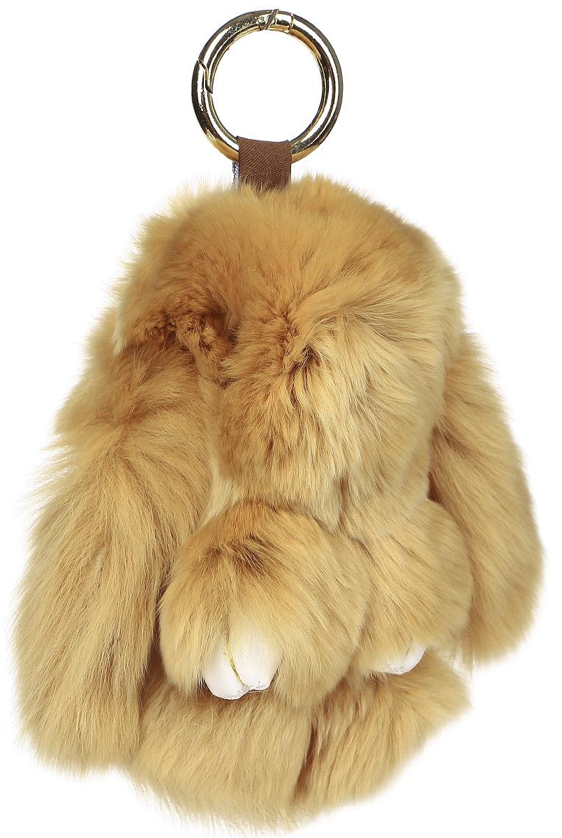 Брелок женский Mitya Veselkov, цвет: коричневый. BRELOK-KROLIK-BROWNBRELOK-KROLIK-BROWN