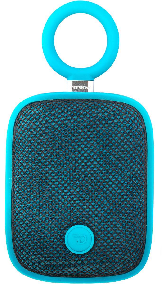 DreamWave Bubble Pod, Blue портативная Bluetooth-колонка15119098DreamWave Bubble Pod – это очень красочная портативная Bluetooth-колонка. Она обладает наилучшим качеством звучания среди устройств своего класса и может отправиться с вами в любое путешествие. Это сверхлёгкая, простая и удобная колонка с защитой от воды/песка/пыли уровня IPX5, обладающая выходной мощностью в 5 Вт. Модель оборудована встроенным аккумулятором ёмкостью 1800 мАч, благодаря чему она способна воспроизводить музыку на максимальной громкости в течение 5 часов. Встроенный драйвер и процессор, создающий эффект звучания на 360°, вместе создают идеальный тандем громкости и басов. Благодаря функции гарнитуры вы сможете отвечать на входящие вызовы, на время разговора музыка будет останавливаться, а по окончании разговора снова вернется к воспроизведению. Bubble Pod имеет простой и удобный дизайн, позволяющий крепить колонку при помощи D-образного кольца, так что вы сможете брать её с собой куда угодно и использовать данное крепление практически с любым предметом одежды, детской...
