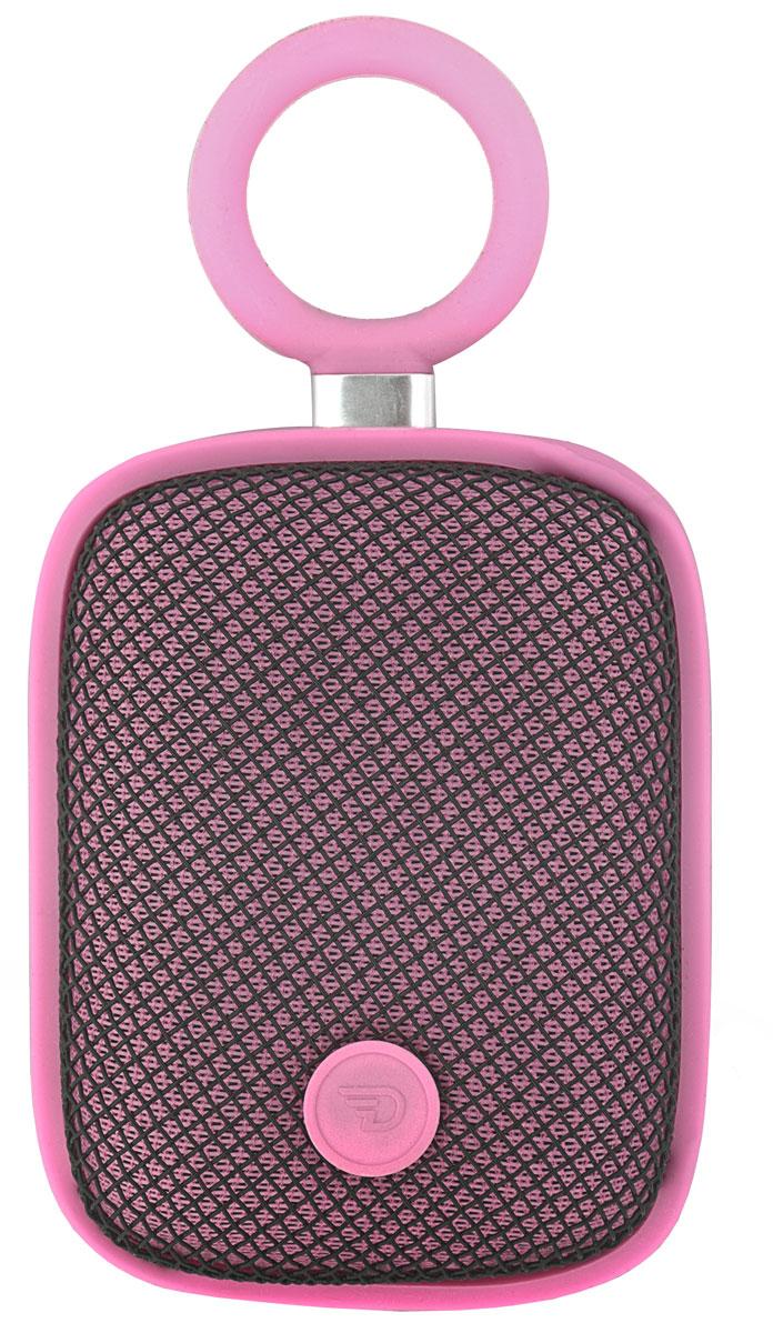 DreamWave Bubble Pod, Pink портативная Bluetooth-колонка15119096DreamWave Bubble Pod – это очень красочная портативная Bluetooth-колонка. Она обладает наилучшим качеством звучания среди устройств своего класса и может отправиться с вами в любое путешествие. Это сверхлёгкая, простая и удобная колонка с защитой от воды/песка/пыли уровня IPX5, обладающая выходной мощностью в 5 Вт. Модель оборудована встроенным аккумулятором ёмкостью 1800 мАч, благодаря чему она способна воспроизводить музыку на максимальной громкости в течение 5 часов. Встроенный драйвер и процессор, создающий эффект звучания на 360°, вместе создают идеальный тандем громкости и басов. Благодаря функции гарнитуры вы сможете отвечать на входящие вызовы, на время разговора музыка будет останавливаться, а по окончании разговора снова вернется к воспроизведению. Bubble Pod имеет простой и удобный дизайн, позволяющий крепить колонку при помощи D-образного кольца, так что вы сможете брать её с собой куда угодно и использовать данное крепление практически с любым предметом одежды, детской...