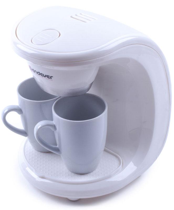 Endever Costa-1040, White кофеваркаCosta-1040Kофеварка капельного типа Endever Costa-1040 в комплекте с двумя фарфоровыми чашками, отличается одновременной подачей кофе на две чашки. Съёмный моющийся нейлоновый фильтр обеспечит долговременное использование прибора. Одновременная подача кофе сразу на две чашки Съёмный моющийся нейлоновый фильтр