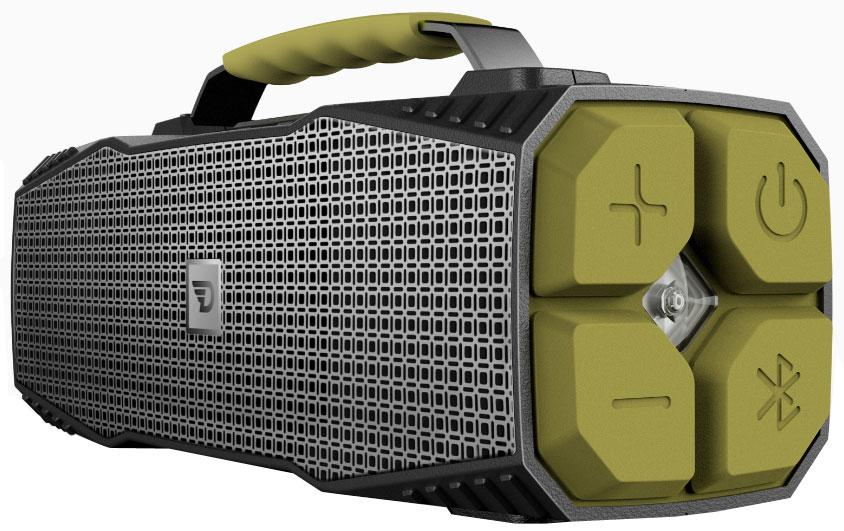 DreamWave Elemental портативная Bluetooth-колонка15119102DreamWave Elemental – это высококлассная Bluetooth-аудиосистема с выходной мощностью 30 Вт и ультраярким светодиодным фонарем мощностью 110 люменов, который может освещать вам путь на расстоянии до 400 метров, а также способен подавать сигнал SOS. Устраивайте вечеринки на природе с вашими друзьями и наслаждайтесь музыкой весь день напролёт благодаря встроенному аккумулятору ёмкостью 12 тысяч мАч. Сочетание передовых технологий и тончайших настроек звука позволяет Elemental передавать музыку во всей полноте, сохраняя её первозданную глубину и ясность – так, как это задумывал исполнитель. Прочная конструкция, защита от воды/песка/пыли/снега уровня IPX5, компактный дизайн и надёжная алюминиевая ручка для переноски позволят вам брать Elemental с собой, куда бы вы ни отправились. Более того, устройство поможет и в экстренных ситуациях. Премиальная Hi-Fi-колонка с мощностью 30 Вт Светодиодный фонарь мощностью 110 люменов (режимы освещения и SOS) Защита от воды/песка/пыли...